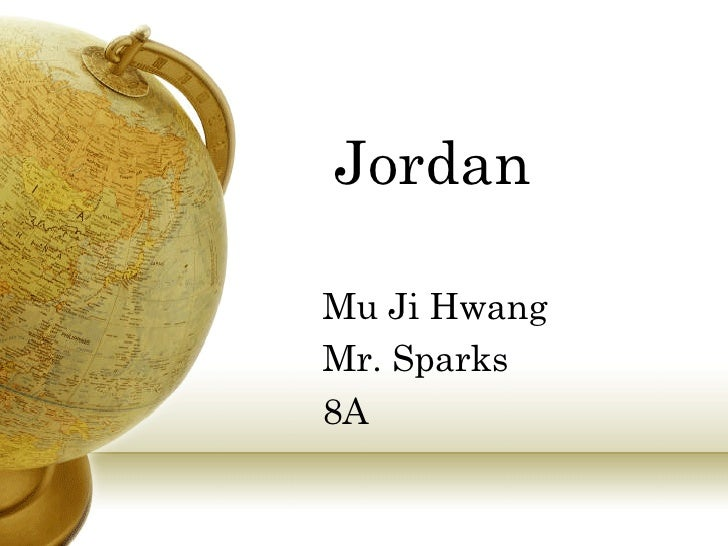 Humanities Presentation About Jordan 2