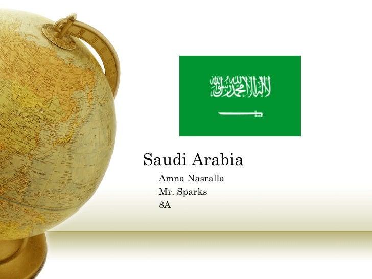 Saudi Arabia Amna Nasralla Mr. Sparks 8A