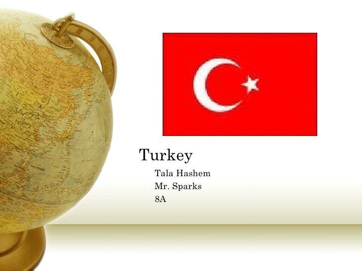Turkey Tala Hashem Mr. Sparks 8A