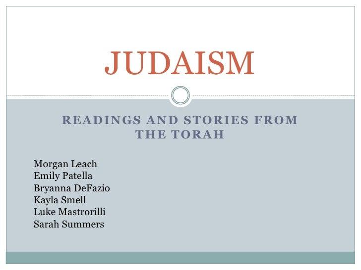 Humanitites 101 Judaism