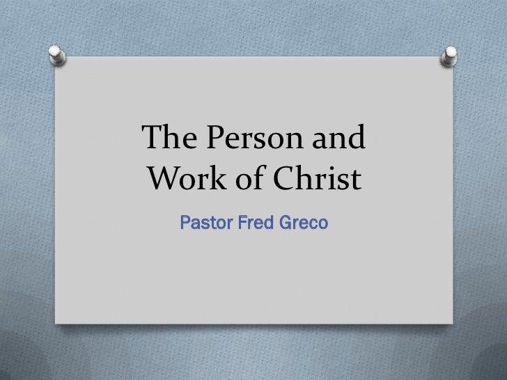 Humanity Of Christ 2