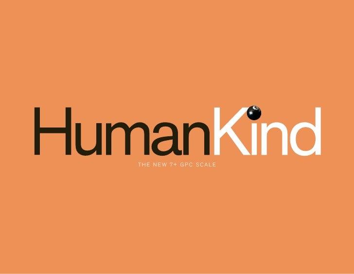 The Human Kind Scale
