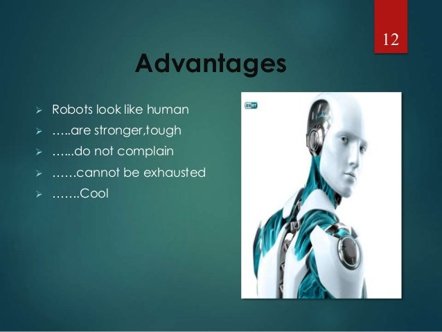 The Advantages of Robotics in the Workplace