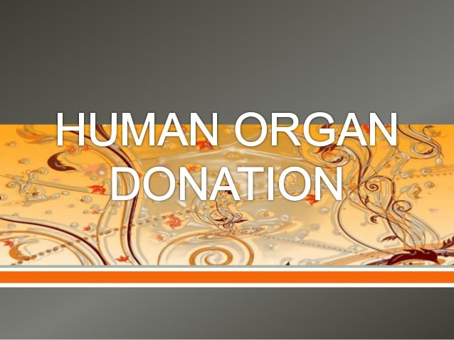 thesis for research paper on organ donation This research paper a market for human organs and other 63,000+ term papers, college essay examples and free essays are year waiting for an organ donation.