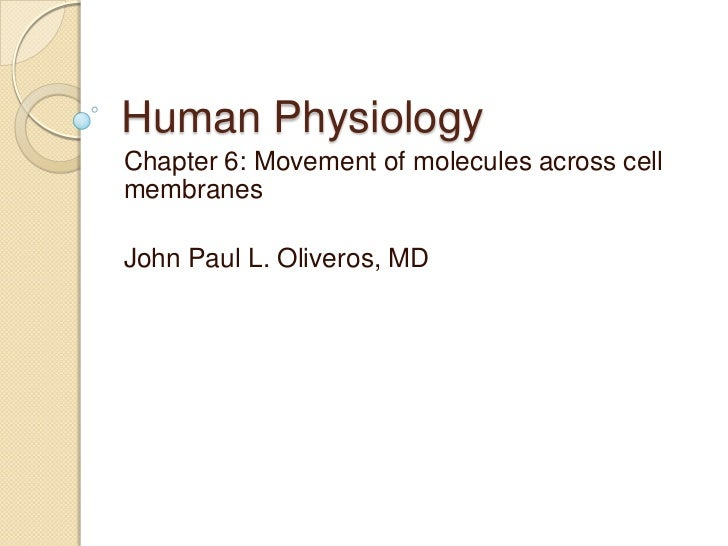 Human physiology part 2