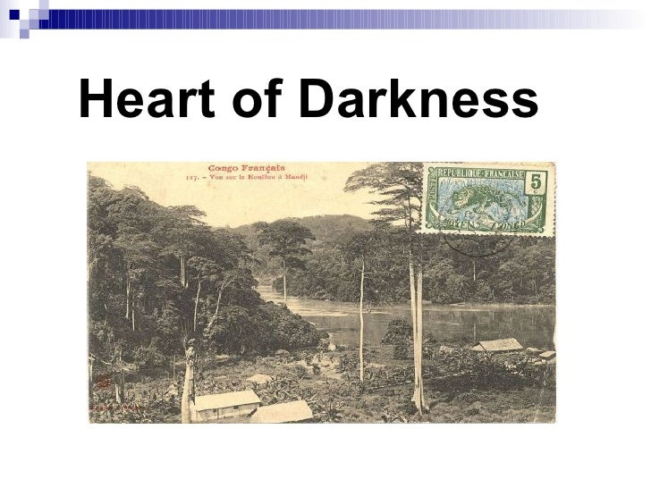 Human psyche in heart of darkness