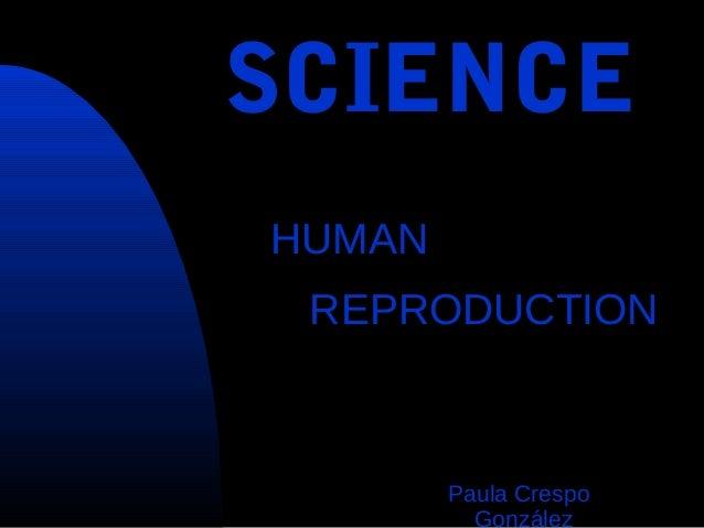 Human reproduction by Paula Crespo