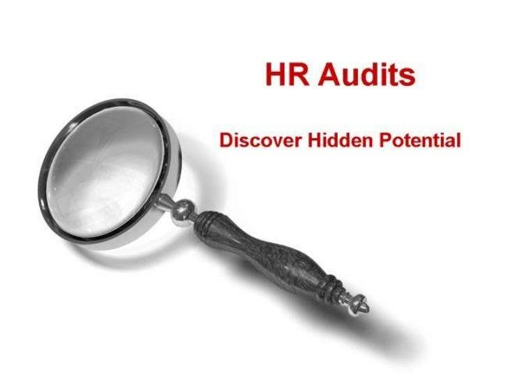 Human resource audits