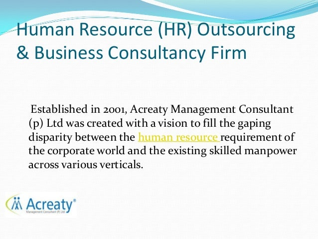 HR Outsourcing and Business Consultancy Firm