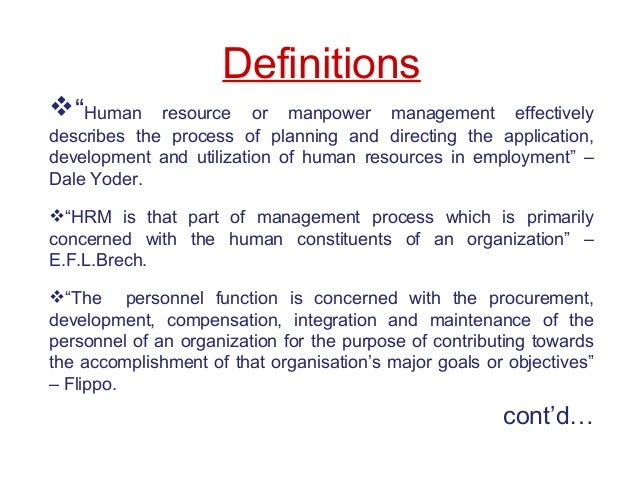 the use of human resource to effectively manage companies Effective performance management:  when used effectively,  and they use formal and informal rewards to recognize the behavior and results that accomplish their.