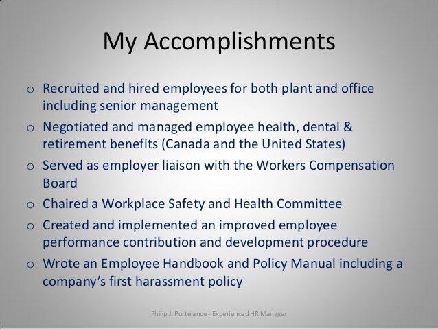 essay on accomplishments