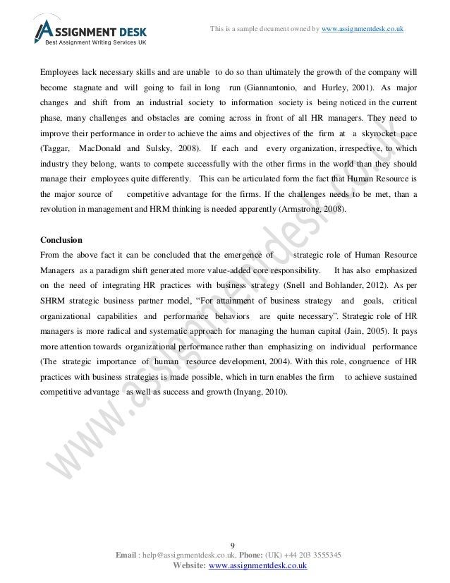 intermediate certificate in human resource management essay Essay paper on human resource management human resource management (hrm) is very important in the workplace it maintains a healthy work environment and encourages, motivates people so they can enjoy their jobs and keep it interesting.