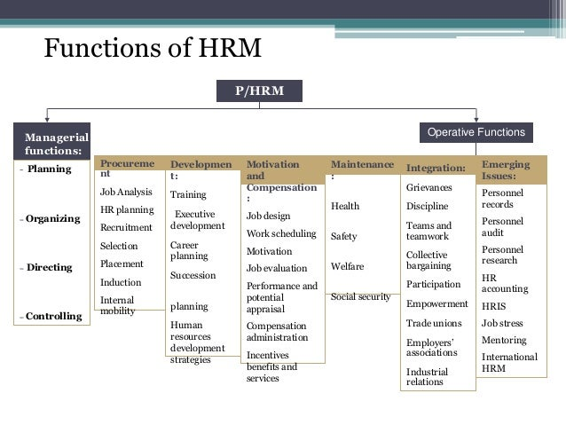 human resources management hrm presentation Traditional human resources management (hrm) activities (ie, recruitment and   although the evidence presented in the literature shows that effective hrm.