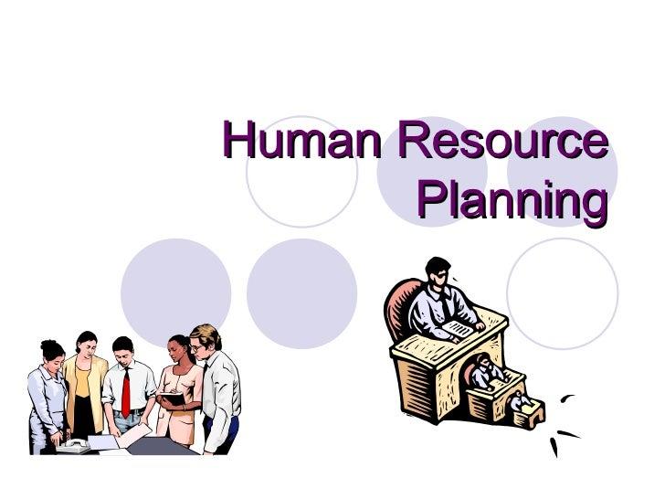 Humanresource planning