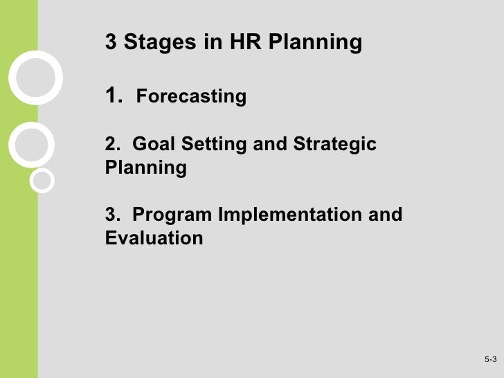 Human resource planning case study ppt