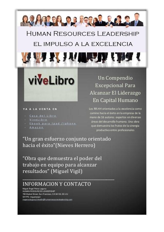 Human resources Leadership - libro/ebook