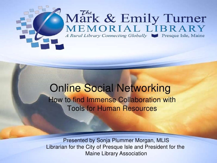 Online Social Networking<br />How to find Immense Collaboration with Tools for Human Resources <br />Presented by Sonja Pl...