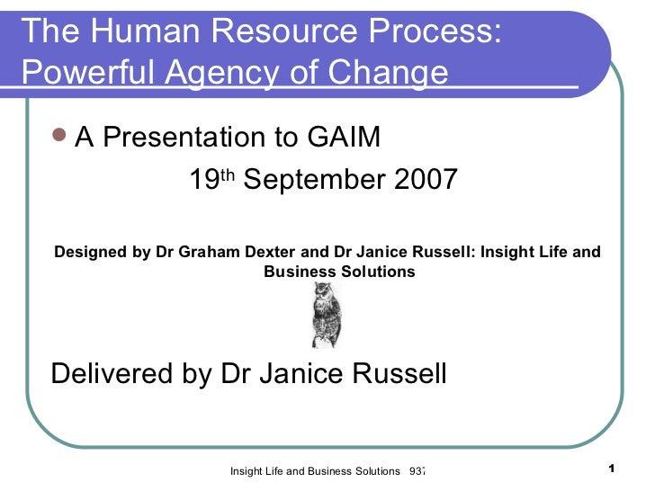 Human resources talk