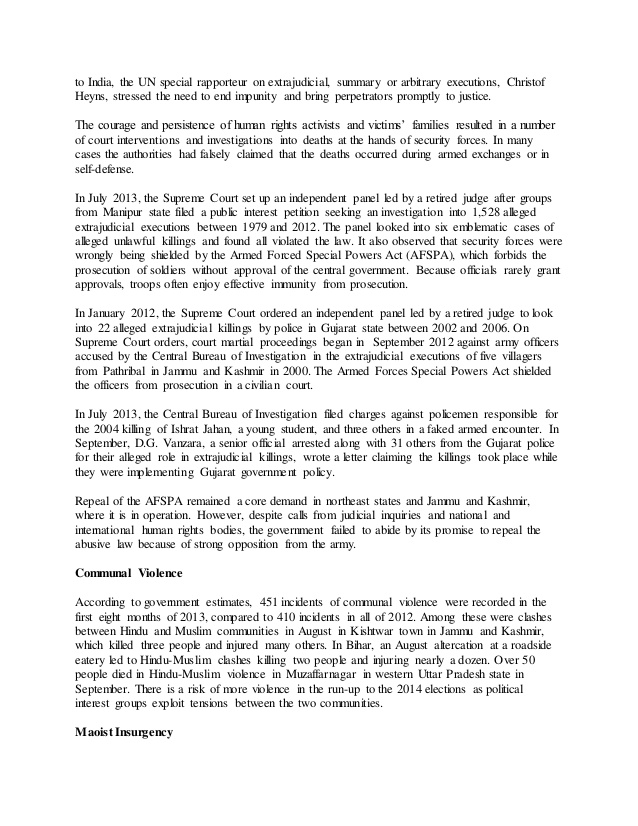 Human rights essay writing