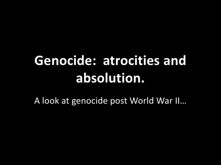 Human rights genocide ppt1.2