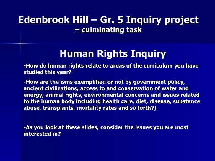 Humanrightsinquiryshow