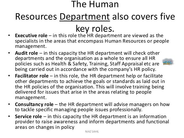 human resource responsibilities and roles essay Writepass - essay writing - dissertation topics [toc]introductionhow human resource management plays an important rule in employee motivationemployee motivationleadership skills and leadership behaviorseffective leadership behaviorsconclusionthe purposethe methodthe implementationthe considerations - communication skillsthe considerations - listening skillsreferencesrelated introduction.