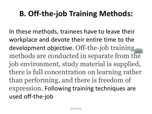 Training essays