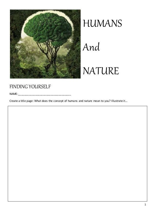 human nature thesis