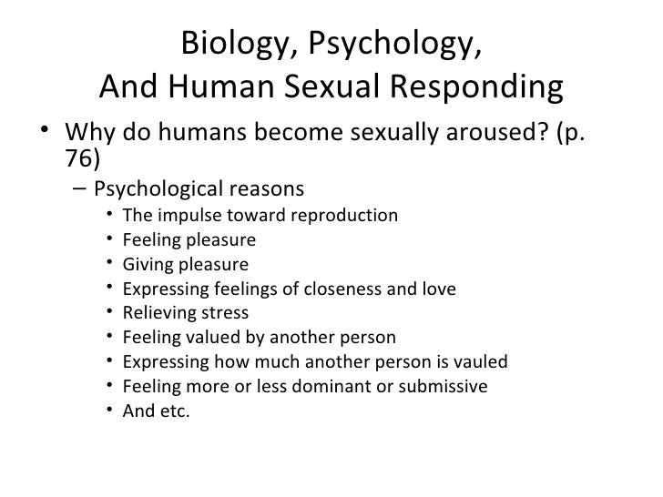 biology vs psychology There is evidence that sexual orientation is largely tied to biology and initial gender identity: biology or environment advancing psychology to.