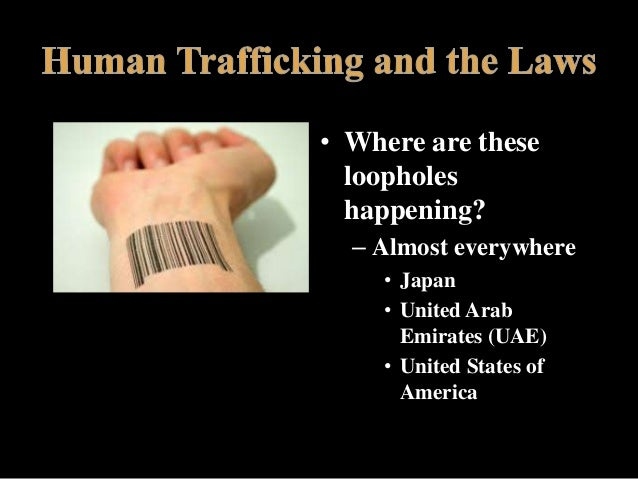 Any info on causes for Human trafficking in the United Arab emirates?
