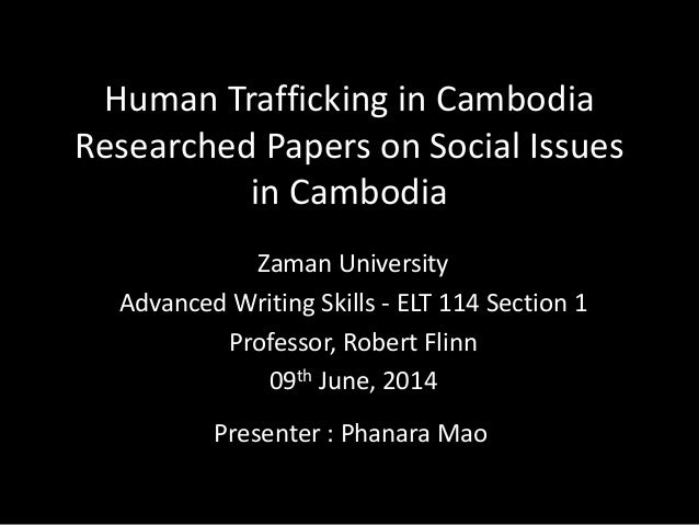human trafficking paper essay Human trafficking paper essay sample introduction human trafficking is modern-day slavery and an egregious violation of human dignity traffickers exploit children, women, and men regardless of age, race, ethnicity, national origin, or socioeconomic status.