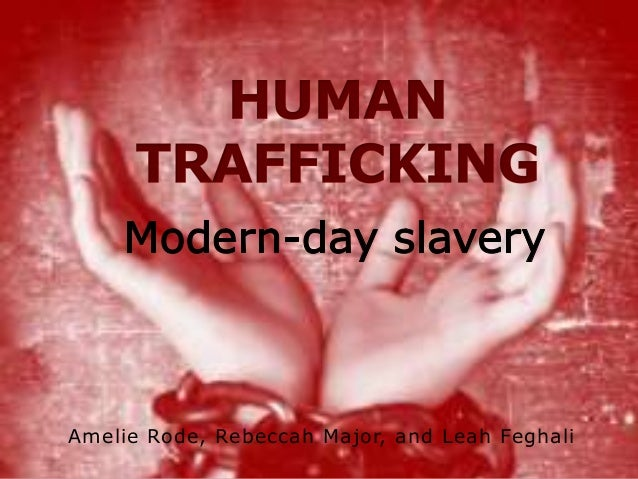 Be Against Human Trafficking