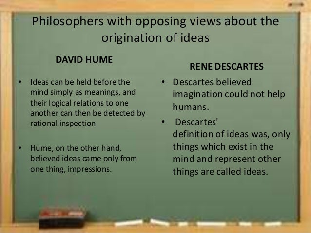 david humes theory of knowledge essay Study guide for david hume: an inquiry concerning human understanding by  how does hume propose to use his theory of ideas to cut through obfuscation and.
