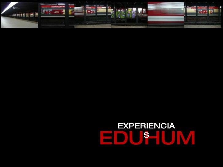 EDUHUM EXPERIENCIAS