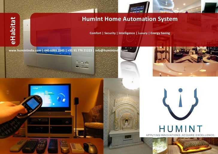 HumInt Home Automation System eHabitat                                                      Comfort | Security | Intellige...