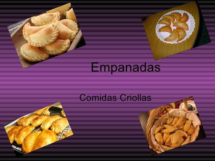 Empanadas Comidas Criollas