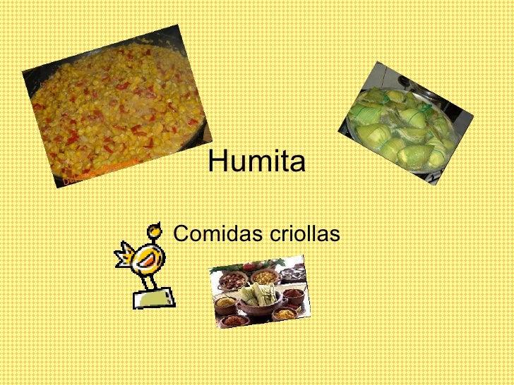 Humita Comidas criollas