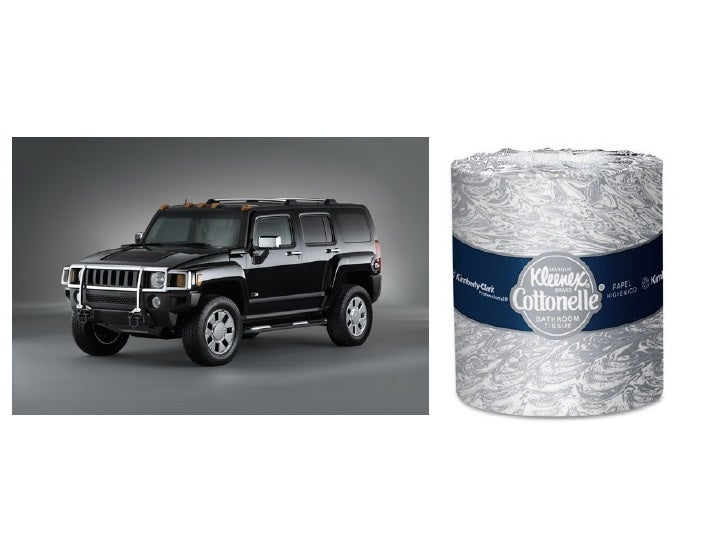 Worse to the environment?        Hummer          Cottonelle