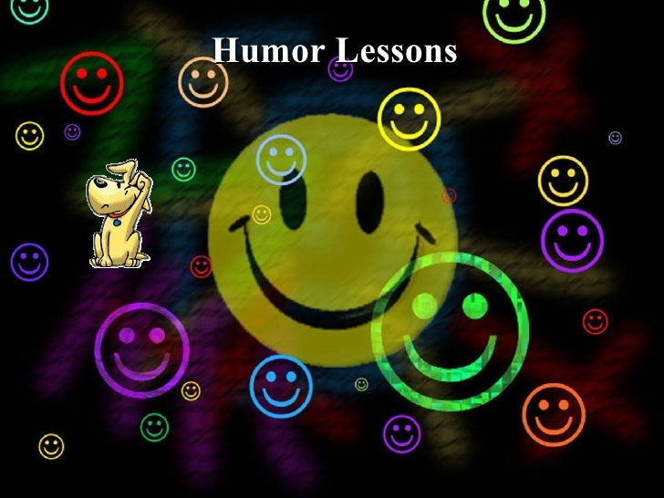 Humor Lessons