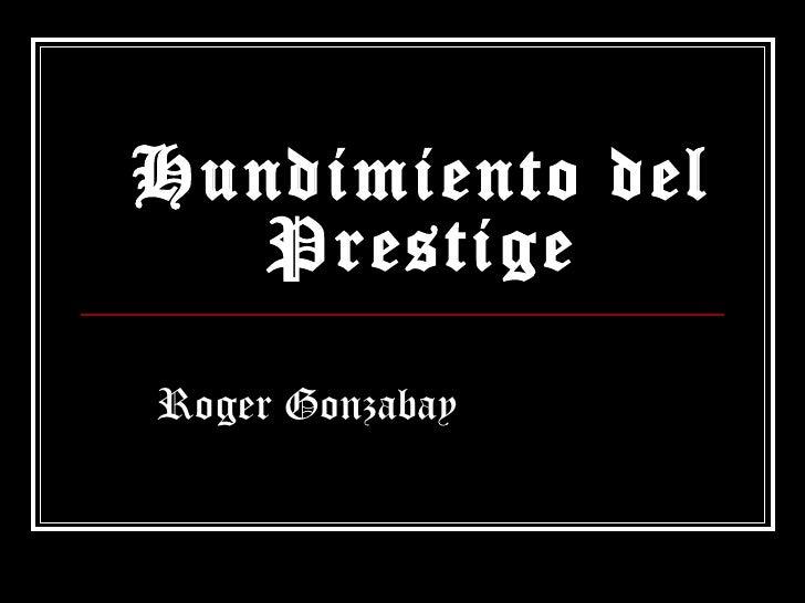 Hundimiento del prestige