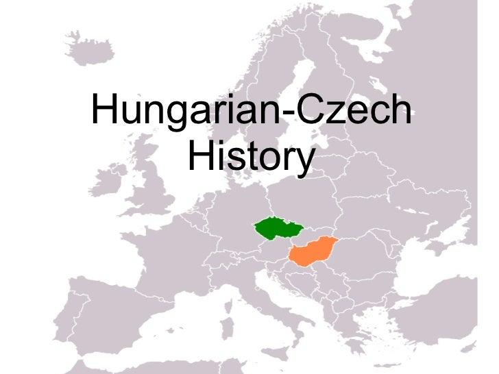 Hungarian-Czech history