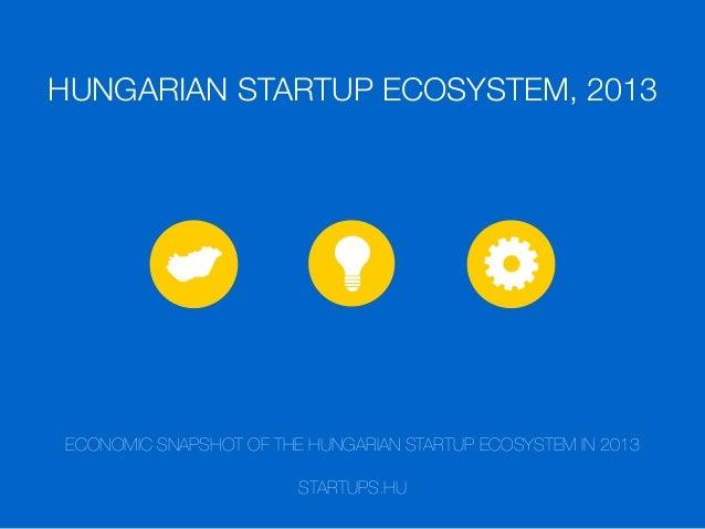 Hungarian Startup Ecosystem 2013
