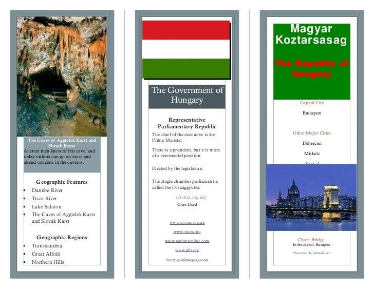 Hungary brochure