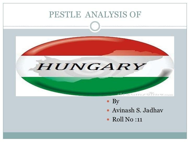 PESTLE ANALYSIS OF            By            Avinash S. Jadhav            Roll No :11