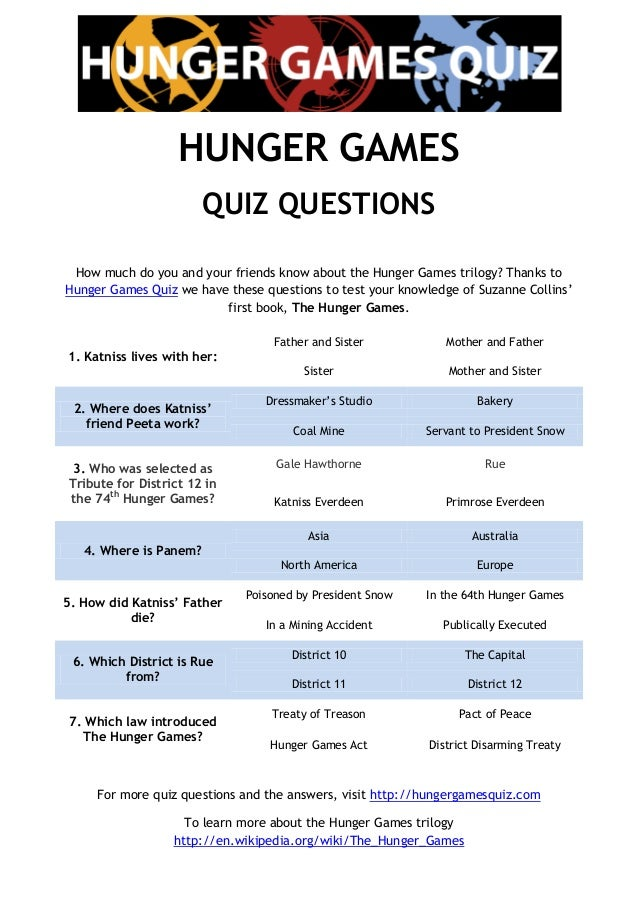 essay questions for the hunger games