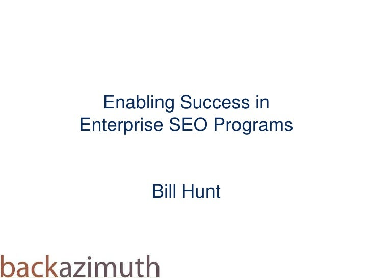 Hunt enterprise-seo sessf