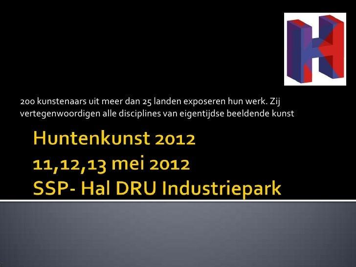 Huntenkunst 2012