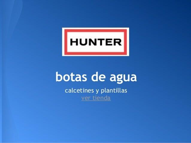 Hunter Wellington boots Botas de agua