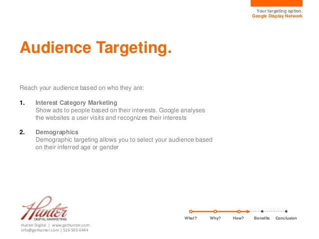 Interest Targeting Google Your Targeting Option Google