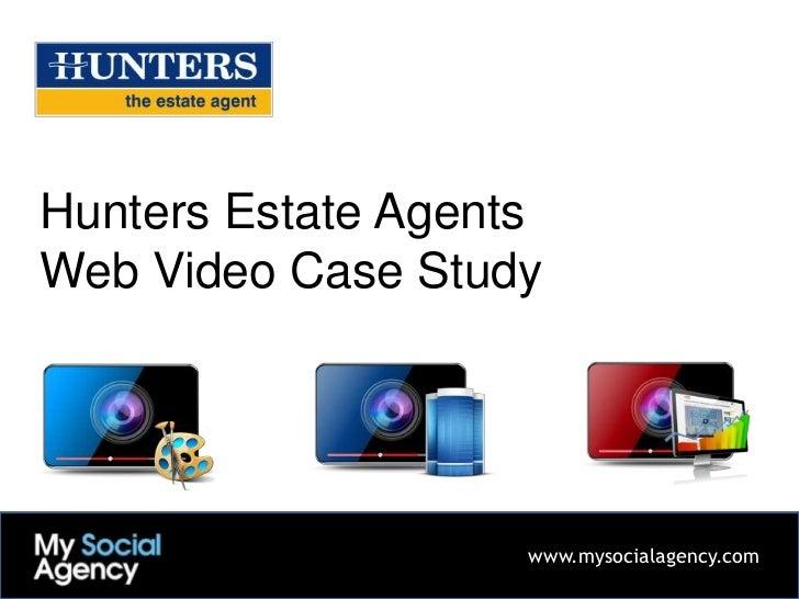 Hunters Estate Agents Web Video Case Study
